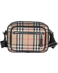 Burberry - Vintage Check Crossbody Bag - Lyst
