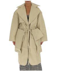 Jacquemus La Manteau Bagli Coat - Natural