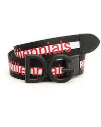 Dolce & Gabbana Dg Millennials Belt - Red