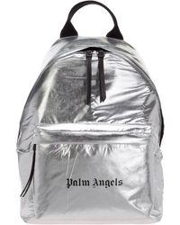 Palm Angels Men's Rucksack Backpack Travel - Metallic