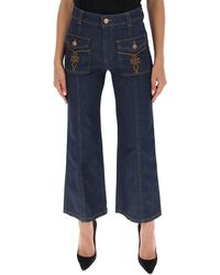 See By Chloé Wide Leg Jeans - Blue