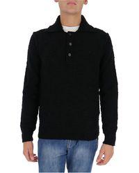 Dolce & Gabbana Polo-style Jumper - Black