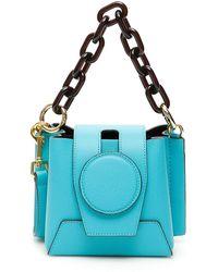 Yuzefi Daria Mini Bucket Bag - Blue