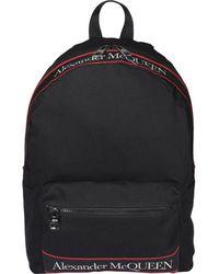 Alexander McQueen Metropolitan Selvedge Backpack - Black