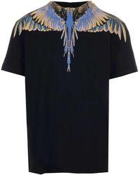 Marcelo Burlon Wings T-shirt - Black