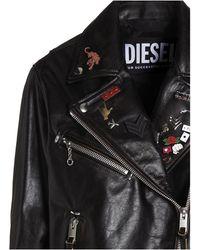 DIESEL L-edmea Biker Jacket - Black