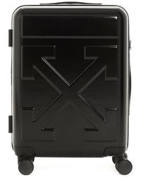 Off-White c/o Virgil Abloh Arrow Logo Embossed Luggage Case - Black