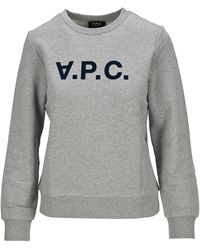 A.P.C. Viva Sweatshirt - Grey