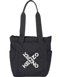 KENZO Sport Small Tote Bag - Black