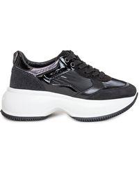 Hogan Maxi I Active Loew-top Sneakers - Black