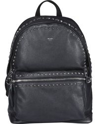 Jimmy Choo Wilmer Stud Embellished Backpack - Black