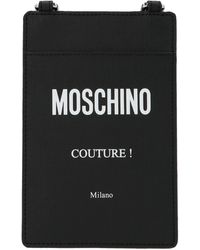 Moschino Couture Strapped Cardholder - Black