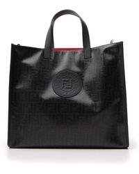 Fendi - Ff Monogram Tote Bag - Lyst
