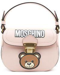Moschino - Bear Logo Shoulder Bag - Lyst