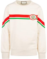Gucci Interlocking G Sweatshirt - White
