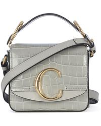 Chloé Mini C Top Handle Bag - Multicolour