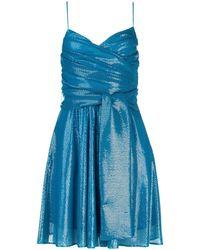 MSGM Sequin Dress - Blue