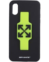 Off-White c/o Virgil Abloh Iphone Xs Cover - Black