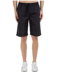 Moschino Couture Drawstring Swim Shorts - Black