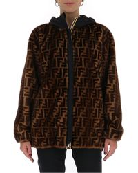 Fendi X K-way Reversible Multi-functional Windbreaker - Brown