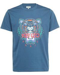 KENZO Tiger T-shirt - Blue