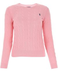 Polo Ralph Lauren Cable Knit Sweater - Pink