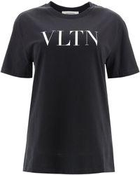 Valentino Vltn Logo Shirt - Black