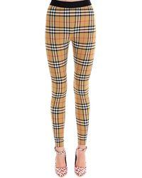 Burberry Belvoir Vintage Check Leggings - Multicolour