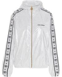 Chiara Ferragni Polyester Outerwear Jacket - Metallic