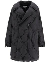 Maison Margiela Longline Down Jacket - Black
