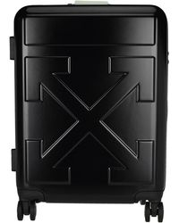 Off-White c/o Virgil Abloh Quote Luggage Carry-on Case - Black