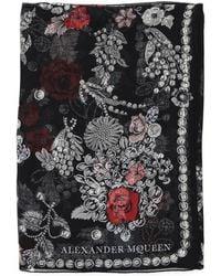 Alexander McQueen - Embellished Scarf - Lyst