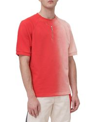 Diesel Red Tag Faded Crewneck T-shirt - Red
