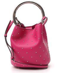 Marni Pannier Studded Bucket Bag - Pink