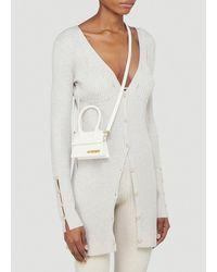 Jacquemus Le Chiquito Mini Crossbody Bag - White