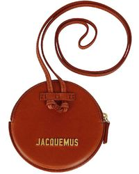 Jacquemus Le Pitchou Strapped Wallet - Red