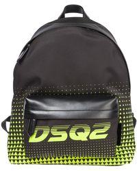 DSquared² Men's Rucksack Backpack Travel - Multicolor