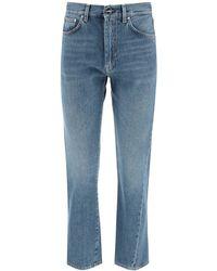 Totême Twisted Seam Jeans - Blue