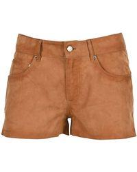 Golden Goose Deluxe Brand Mini Shorts - Brown
