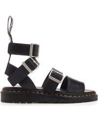 Rick Owens X Dr. Martens Gryphon Sandals - Black