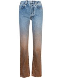 Off-White c/o Virgil Abloh Degrade Two-tone Jeans - Blue