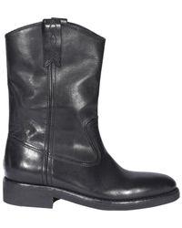 Golden Goose Biker Ankle Boots - Black