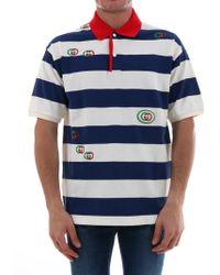 9ba0a12784a5 Men's Gucci Polo shirts Online Sale - Lyst