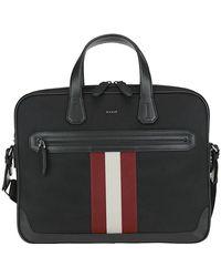 Bally Chandos Laptop Bag - Black