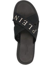 Philipp Plein Other Materials Sandals - Black