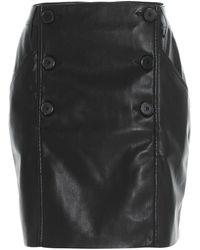 Nanushka Bebe Faux-leather Mini Skirt - Black