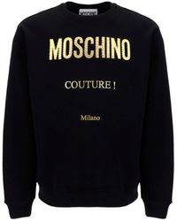 Moschino Couture Printed Sweatshirt - Black