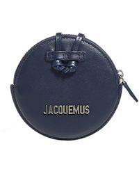 Jacquemus Le Pitchou Strap Purse - Blue