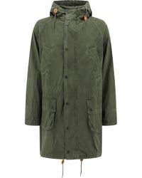 Barbour Hooded Parka - Green