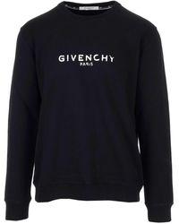 Givenchy Vintage Logo Sweatshirt - Black